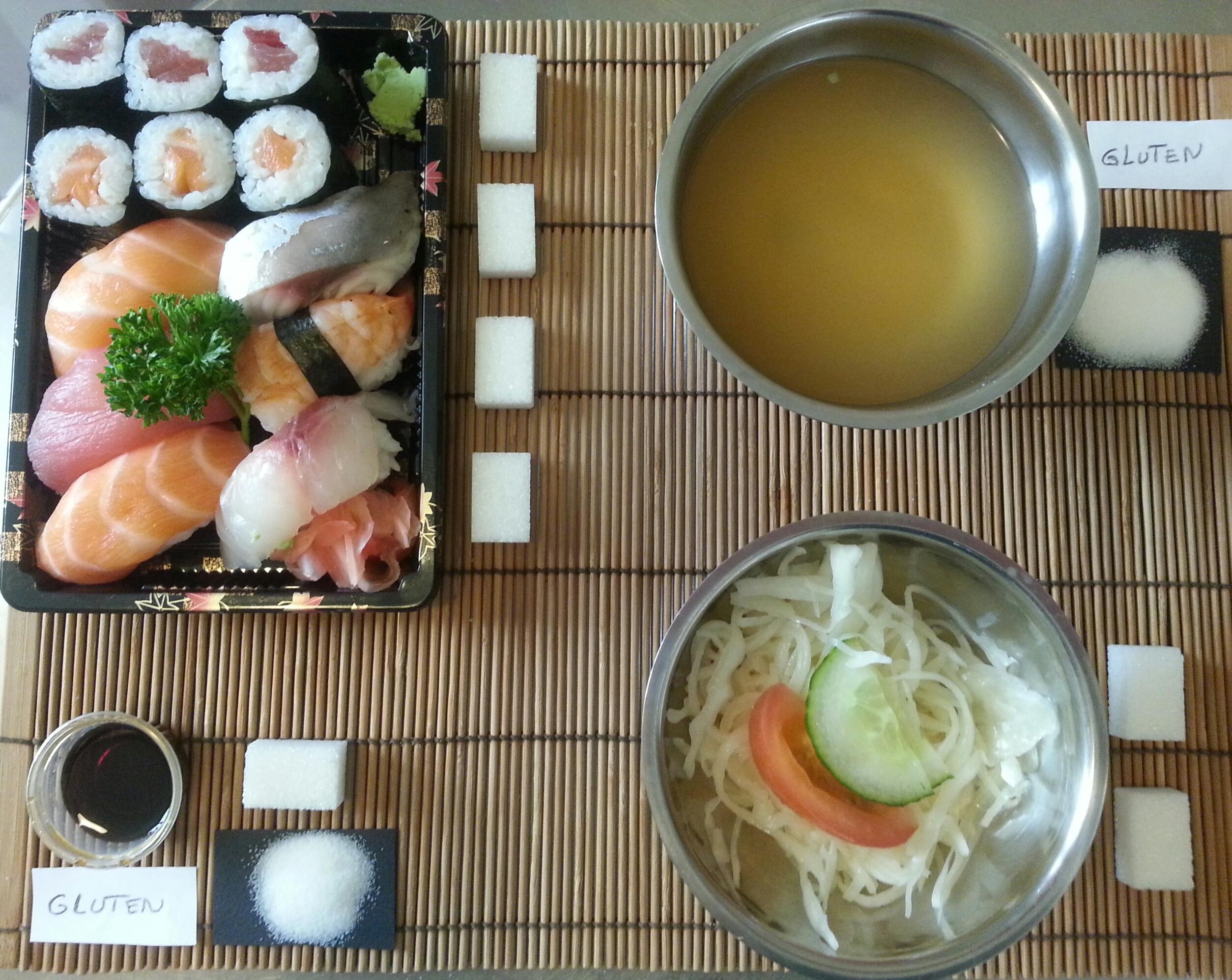 Restaurant Japonais Calories
